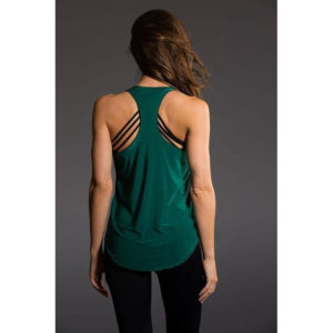 Glossy Tank Top | Forest Green 🍃
