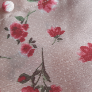 Camisa Red Flowers 🌹